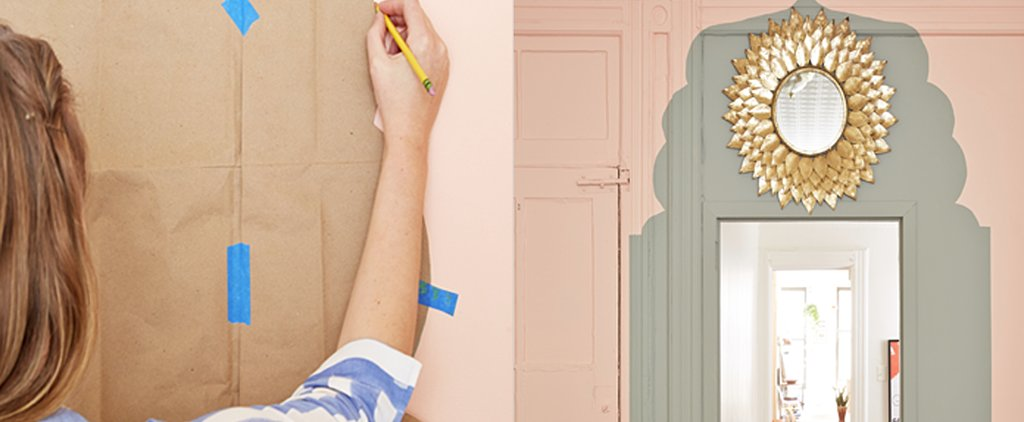 Transform a Boring Doorway Into an Exotic Statement Wall