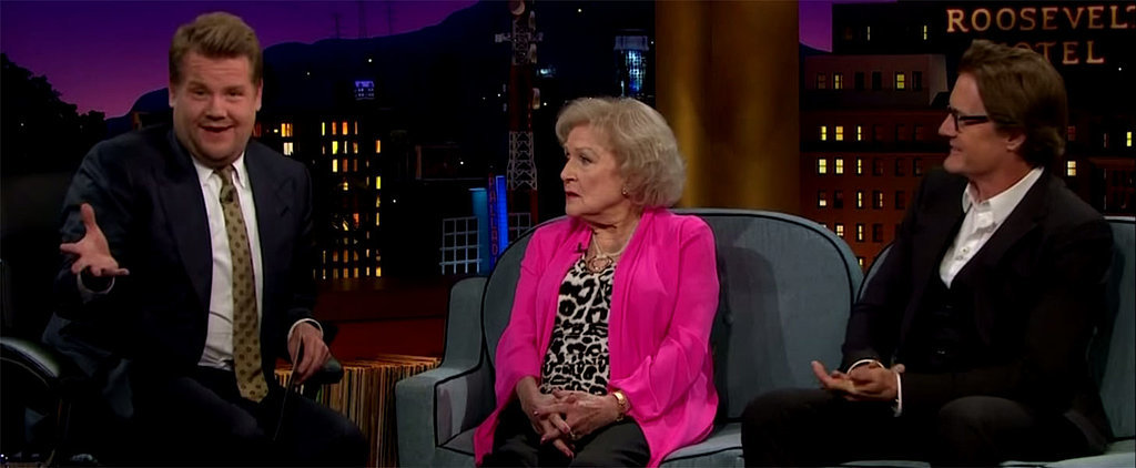 Betty White's Dressing Room Demands Hilariously Catch James Corden Off Guard