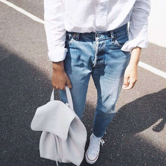 Fashion Bloggers Wearing Dad Clothes