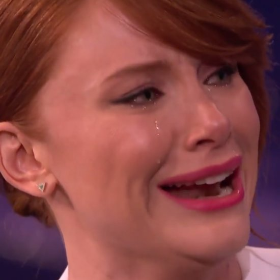 Video of Bryce Dallas Howard Crying on Command on Conan