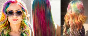 """10 """"Sand Art"""" Hair Colour Looks That Will Make You Join Team Unicorn"""