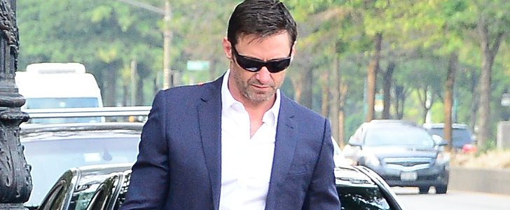 Meet Hugh Jackman, the World's Best Dressed Dog Walker