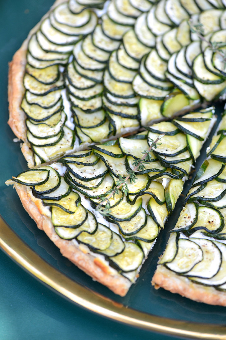 Zucchini and goat cheese tart 18 foolproof ina garten Ina garten goat cheese tart