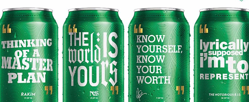 New Sprite Cans and Bottles Feature Classic Rap Lyrics