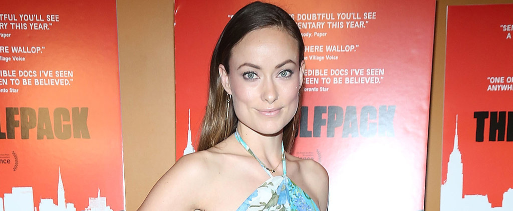 Olivia Wilde Shares the Cutest Picture of Her Park Date With Baby Otis