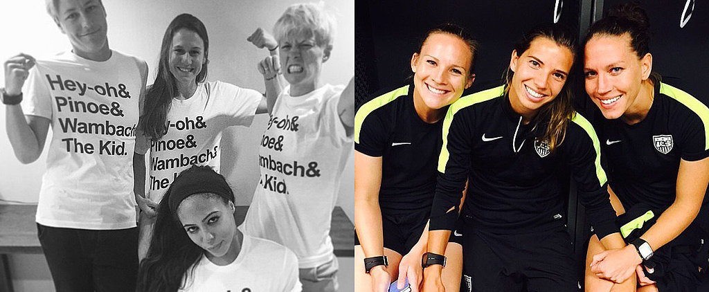 18 Team USA Pictures That Will Get You Excited to Watch the Women's World Cup