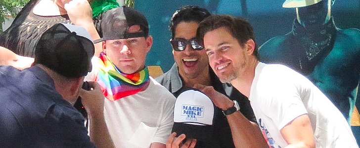 Channing Tatum and His Magic Mike Crew Turn Up at the LA Pride Parade
