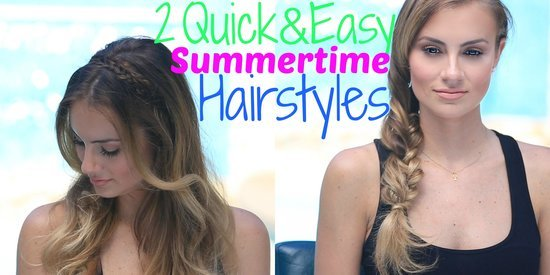 2 Quick & Easy Summertime Hairstyles with Hello Goregous
