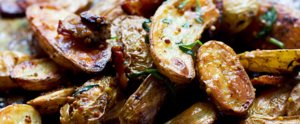 Try Bacon Roasted Potatoes Instead of French Fries — You Won't Be Sorry