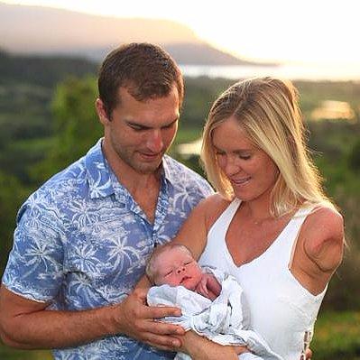 Bethany Hamilton Gives Birth to a Baby Boy