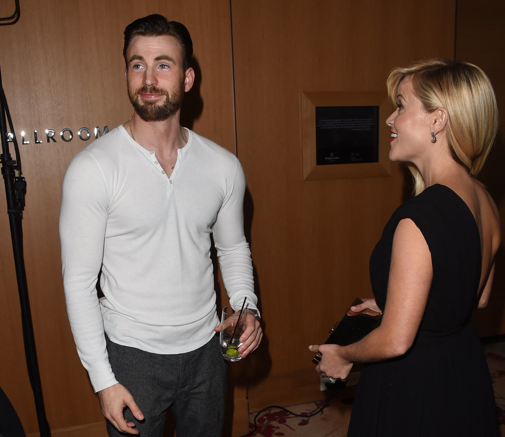 When Reese Witherspoon Came Over Out of Sheer Concern For His Shirt