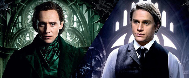 Charlie Hunnam and Tom Hiddleston Are Creepily Sexy in Their Crimson Peak Posters