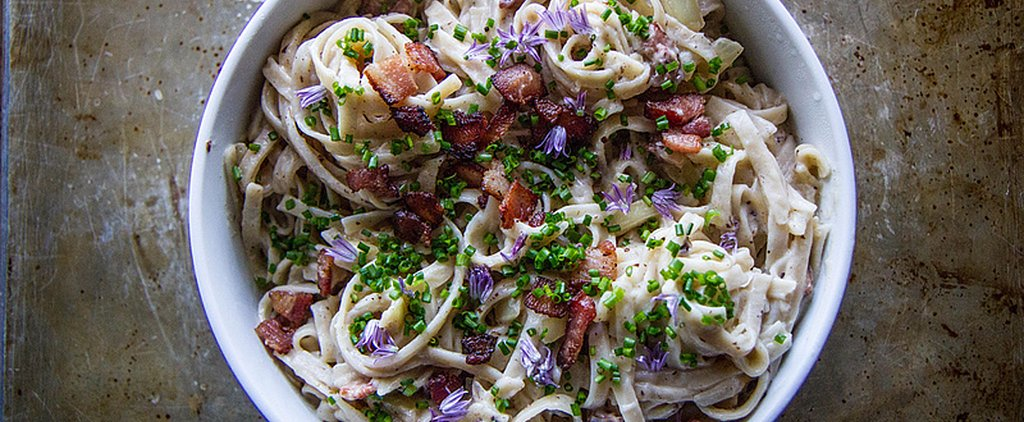 Fettuccine Alfredo the Summer Way (Read: Cream-Free)