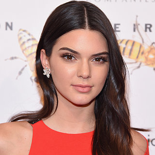Kendall Jenner Led the Supermodel Pack in a Very Leggy Look
