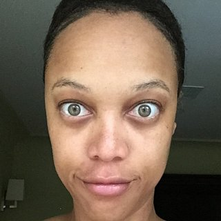 Tyra Banks and More Celebrities Embrace the Makeup-Free Selfie