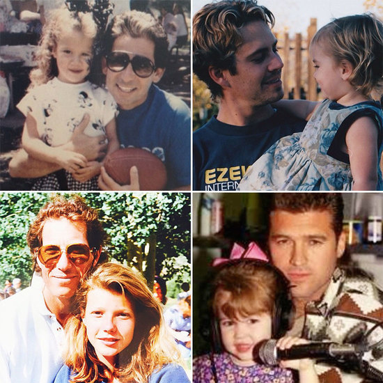 Go Back in Time With These Adorable Throwback Photos of Celebrities With Their Dads