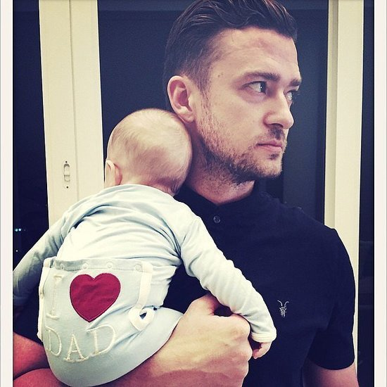 Celebrity Father's Day Instagram Photos