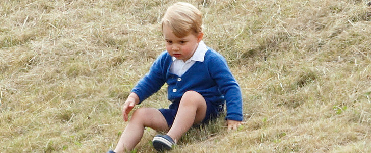 Prince George Has the Cutest Little Green Thumb, Thanks to Grandpa Charles