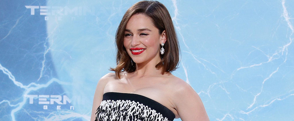Emilia Clarke Doesn't Need Dragons to Be Fierce and Flawless