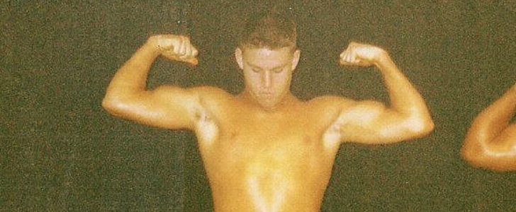 Here's Channing Tatum. In High School. Wearing a Thong.