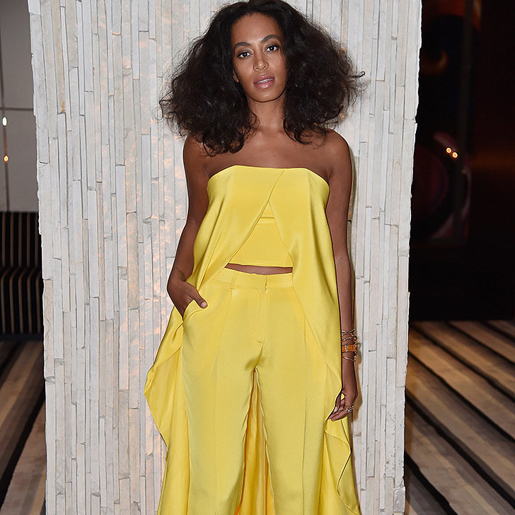 solange knowles red carpet fashion pictures popsugar