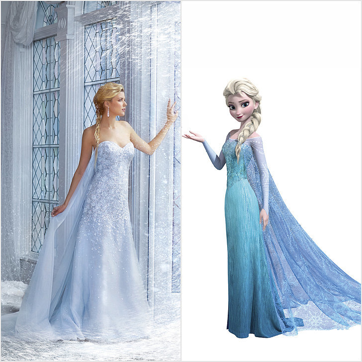 disney princess wedding dresses popsugar fashion