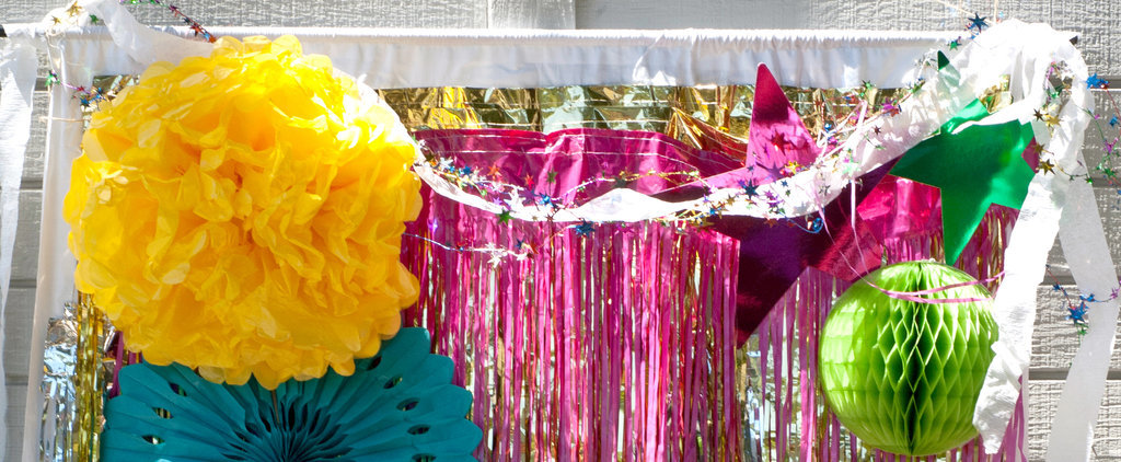 DIY This Shimmering Selfie Station For Your Next Party