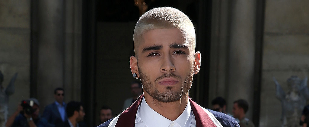 Zayn's New Job Is Apparently Looking Really Hot in Paris