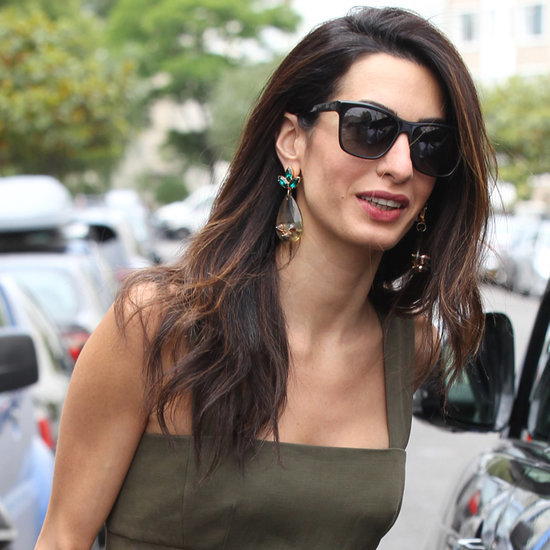 Amal Clooney Left London in Her Most Stylish Outfit Yet