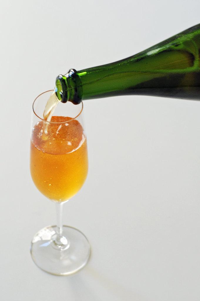 Cognac Sparkler Cocktail