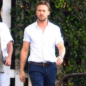 Ryan Gosling Looking Hot in Public   Photos