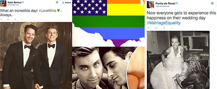 LGBT Stars React to the Epic Same-Sex Marriage Ruling