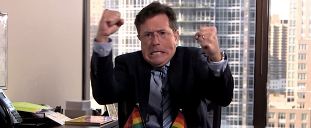 Stephen Colbert's Take on the Gay Marriage Ruling Is Just Perfect