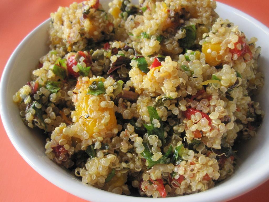 Quinoa Mango Salad