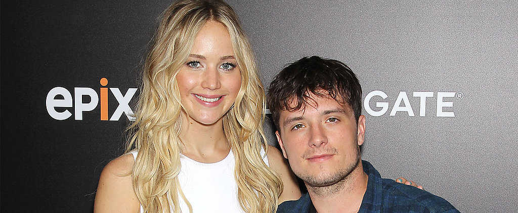 Jennifer Lawrence and Josh Hutcherson Have a Night Out With Hunger Games Costars