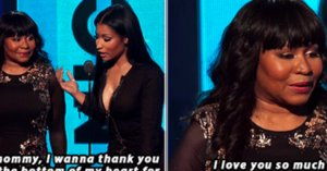 Nicki Minaj Thanked Her Mom At The BET Awards
