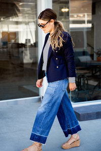 How Team Zoe Wears Culottes
