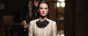 Alessandra Ambrosio Walked at Men's Fashion Week and Stole the Show