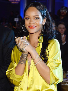 Rihanna Brings Home Puppy from Club Bathroom
