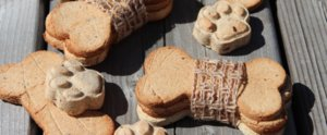 Grain-Free Banana Peanut Butter Dog Treat