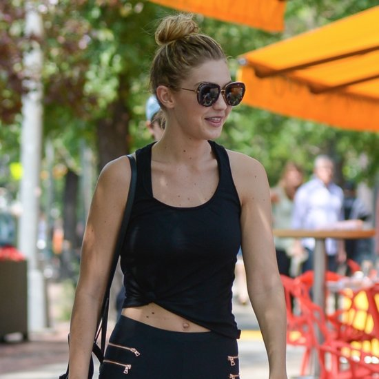 Gigi Hadid Wearing Leggings