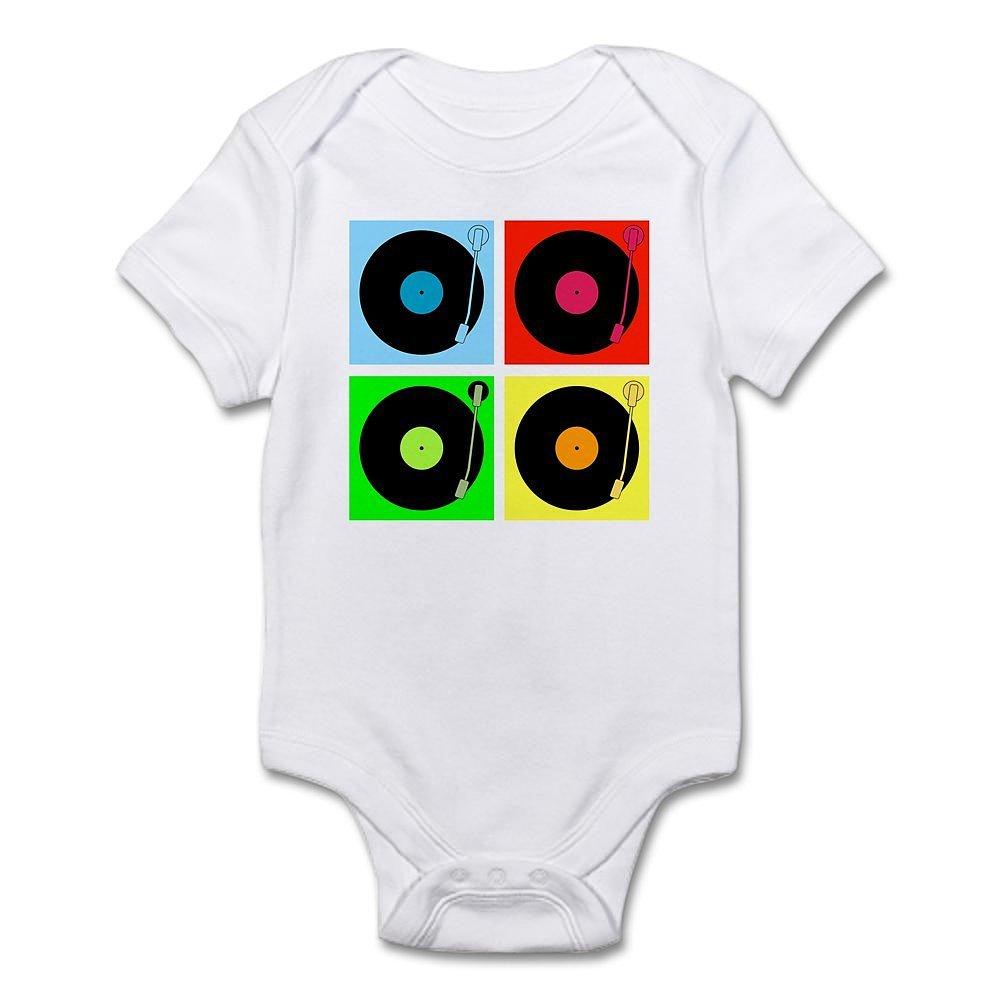 Turntables Infant Bodysuit