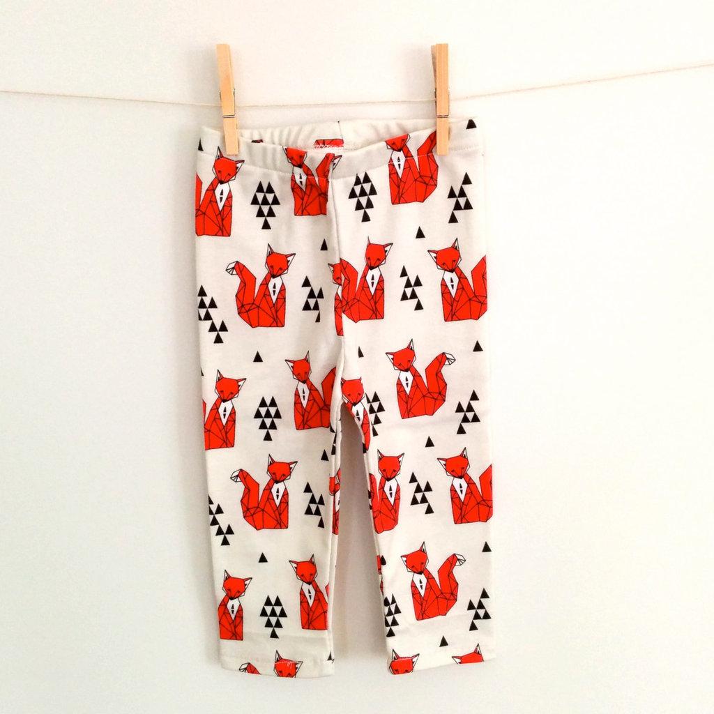 Orange Fox Pants