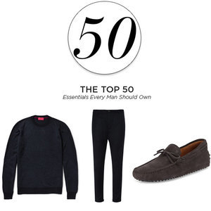 The Top 50 Wardrobe Essentials Every Man Should Own