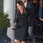Caitlyn Jenner Wearing a Black Herve Leger Dress