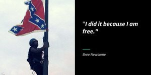 Bree Newsome, Activist Who Took Down Confederate Flag, Says She Refuses 'To Be Ruled By Fear'