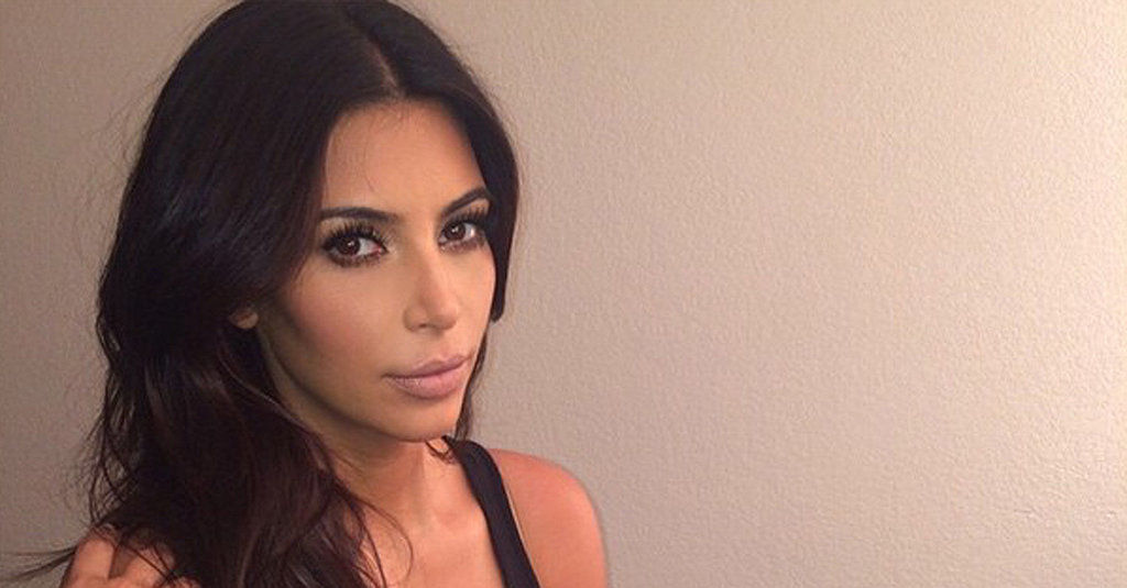 Kim Kardashian Doesn't Mind Objectifying Herself