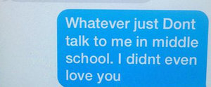 This 11-Year-Old Just Sent the Sassiest Breakup Text EVER