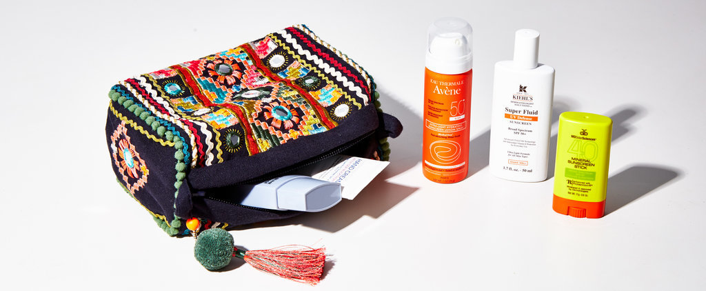 Travel-Size Sunscreens That Are Easy to Reapply During a Day Party