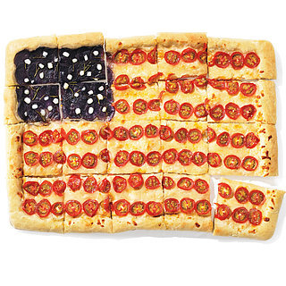 American Flag Pizza Recipe